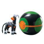 Figurine Pokémon Clip'n Carry Poké Ball  - Démolosse + Sombre Ball