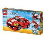 Creator LEGO 31024 - Le Bolide Rouge