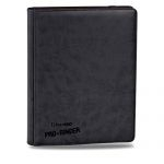 Portfolio  Premium Pro-binder - Simili Cuir Noir -  360 Cases (20 Pages De 18)