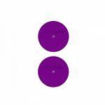 Produits D�riv�s Accessoires Sachet De 2 Capuchons Pour Tube De Protection - Violet