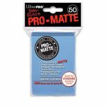 Protèges Cartes Standard  Sleeves Ultra-pro Standard Par 50 Bleu Mc Matte