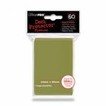 Prot�ges Cartes Format JAP Accessoires Sleeves Ultra-pro Mini Par 60 Metallic Gold