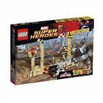 Super Heroes LEGO 76037 - L'équipe De Super Vilains De Rhino Et De L'homme-sable