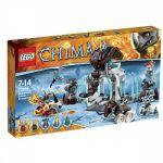 Legends Of Chima LEGO 70226 - La Forteresse Glacée Du Mammouth [emballage Légèrement Abîmé]