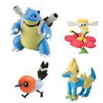 Figurine Pok�mon Pokemon X Et Y - Tortank, Flab�b�, Passerouge, Elecsprint