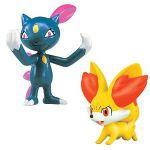 Figurine Pok�mon Pokemon X Et Y - Feunnec et Farfuret