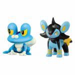 Figurine Pok�mon Pokemon X Et Y - Grenousse et Luxio