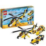 Creator LEGO 31023 - Les bolides jaunes