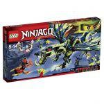 Ninjago LEGO 70736 - L'attaque Du Dragon Moro