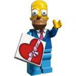 Minifigures The Simpsons 2.0 LEGO - 01 - Homer En Costume-cravate
