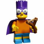 Minifigures The Simpsons 2.0 LEGO - 05 - Bartman