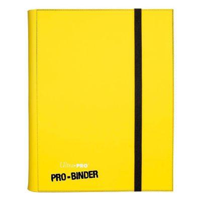 Portfolios Pro-binder - Jaune -  360 Cases (20 Pages De 18)