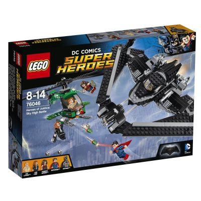 Super Heroes 76046 - Les Héros De La Justice : La Bataille Dans Le Ciel