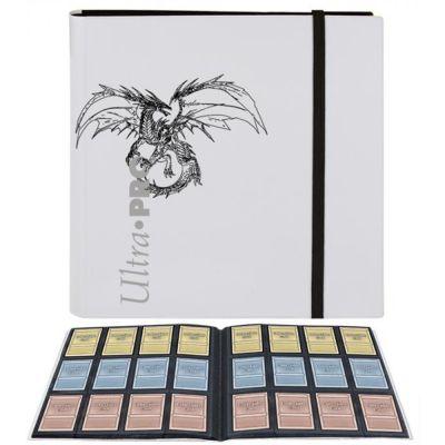 Portfolios Pro Binder Blanc 480 Cartes Dragon
