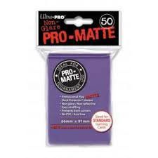 Protèges Cartes Sleeves Ultra-pro Standard Par 50 Violet Matte