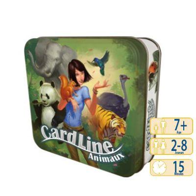 Jeu de carte Cardline Animaux (vert)