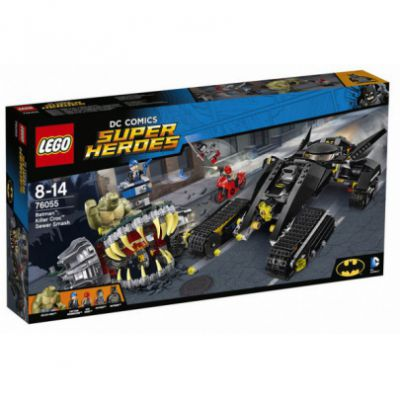Super Heroes 76055 - Batman : Choc Dans Les Égouts Avec Killer Croc