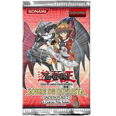 Booster Espagnol Sobre De Duelista Jaden Yuki 2 (pack Du Duelliste Jaden Yuki 2) En Espagnol