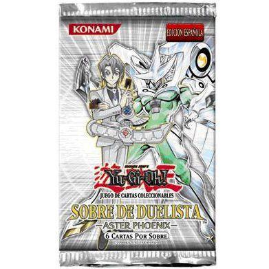 Booster Espagnol Sobre De Duelista Aster Phoenix (pack Du Duelliste Aster Phoenix) En Espagnol