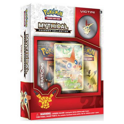 Coffret Mythical Pokémon Collection Victini (en Anglais)