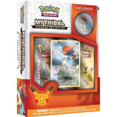 Coffret Mythical Pokémon Collection Keldeo (en Anglais)
