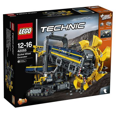 Technic Lego Technic - 42055 - La Pelleteuse À Godets