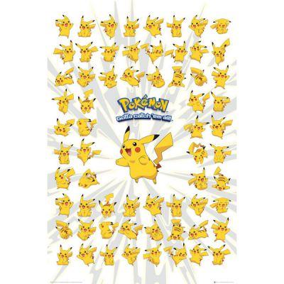 Accessoires Pokémon Poster 91 Pikachu