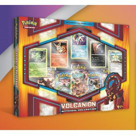 Coffret Mythical Pokémon Collection Volcanion