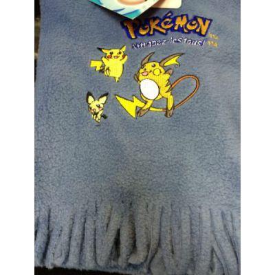 Produits Spéciaux Echarpe Pokemon Bleu Clair