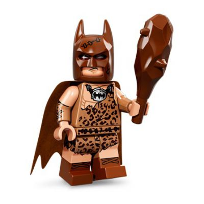 Minifigures The Batman Movie 71017 N°04 Batman Du Clan De La Grotte