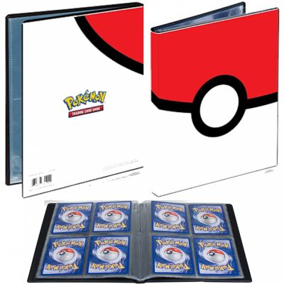 Portfolios Pokéball - 10 Pages De 4 Cases