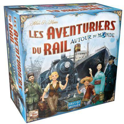 Gestion Les Aventuriers Du Rail Autour Du Monde