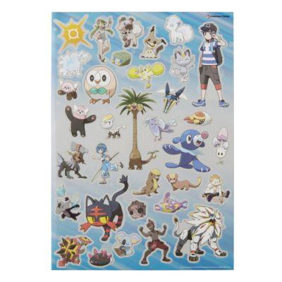 Produits Spéciaux Stickers Pokemon Center - Soleil