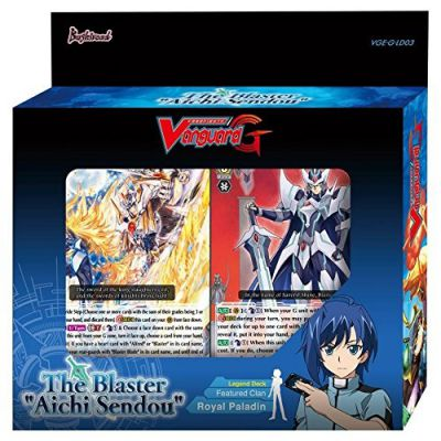 "Decks G-LD03 : G Legend Deck Vol.3 : The Blaster ""Aichi Sendou"""
