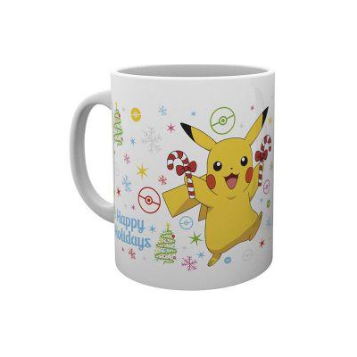 Produits Dérivés Mug Pikachu Happy Holidays