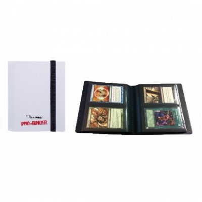 Portfolios Pro-binder - Blanc - 80 Cases (20 Pages De 4)