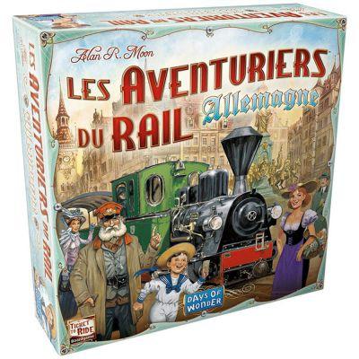Gestion Les Aventuriers Du Rail : Allemagne
