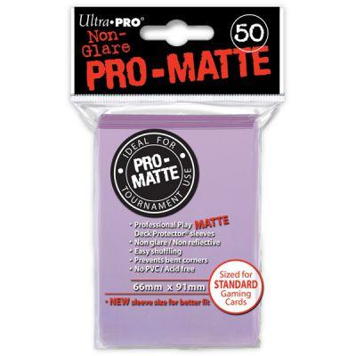 Protèges Cartes Sleeves Ultra-pro Standard Par 50 Lilac Matte