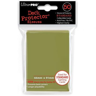 Protèges Cartes Sleeves Ultra-pro Standard Par 50 Metallic Gold