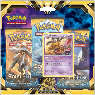 Boosters Français Pack 3 Boosters - SL1 - Soleil Et Lune - Giratina