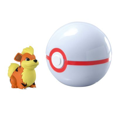 Figurine Clip'n Carry Poké Ball  - Caninos + Honor Ball