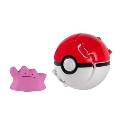 Figurine Pokemon Throw'n Pop Métamorph + Poké Ball