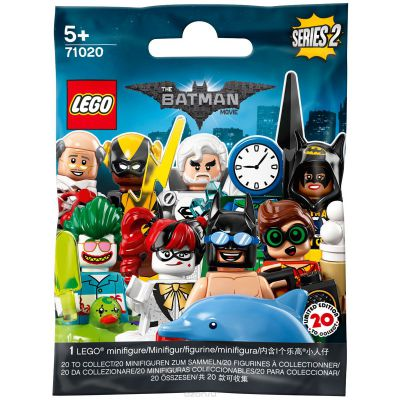Minifigures The Batman Movie Séries 2 71020 Sachet Aléatoire