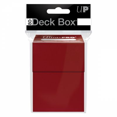 Boites de Rangement Deck Box Ultrapro - Rouge