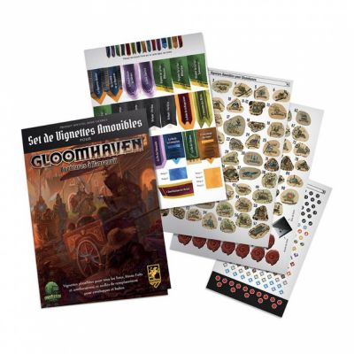 Gestion Gloomhaven : Removal Sticker Set