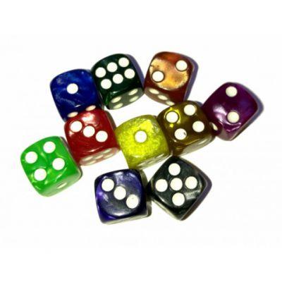 Produits Dérivés Un Dé À 6 Faces - Marble 12 mm (couleur Selon Stock)