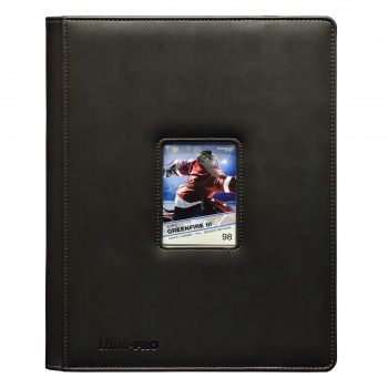 Portfolios Premium Pro-binder - Simili Cuir Gris Window - 360 Cases (20 Pages De 18)