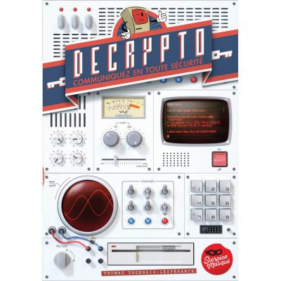 Jeu de cartes Decrypto