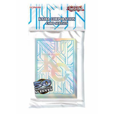 Protèges Cartes Format JAP Officiel Konami - Yu-gi-oh! Kaiba Corporation (par 50)