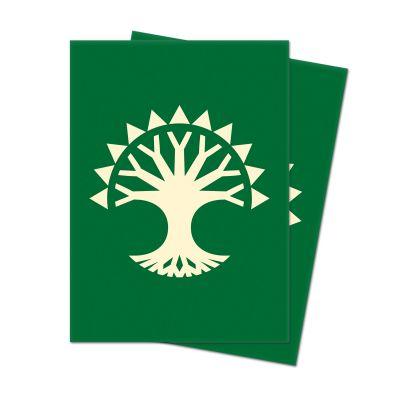 Protèges Cartes Sleeves Ultra-pro Standard Par 100 : Symbole Vert